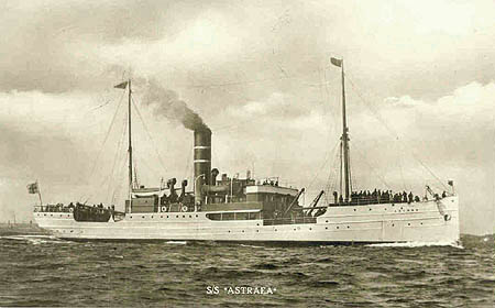 Astraea Steamer to Hull