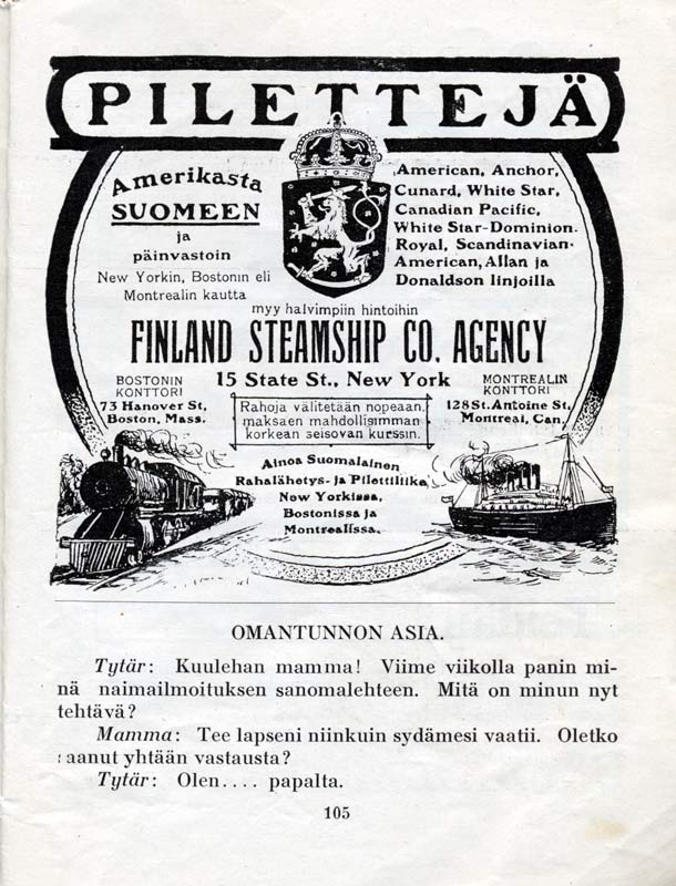 Finnish Steamship Agency