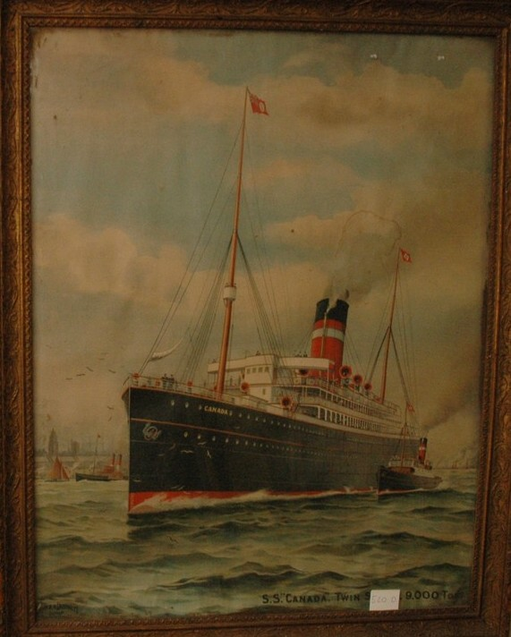 The SS Canada of the Dominion Line